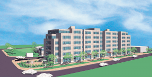 Sutton Real Estate Companies submitted plans to demolish the Midtown Plaza shopping center in downtown Oswego to construct a new mixed-use property to be called East Lake Commons. The new building will include mixed-income apartment units, plus retail, commercial and office space, along with parking for residents and visitors.