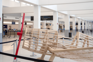 wooden frame plane