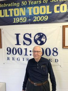 Entrepreneur Bruce Phelps at his shop in Fulton last year. File photo.