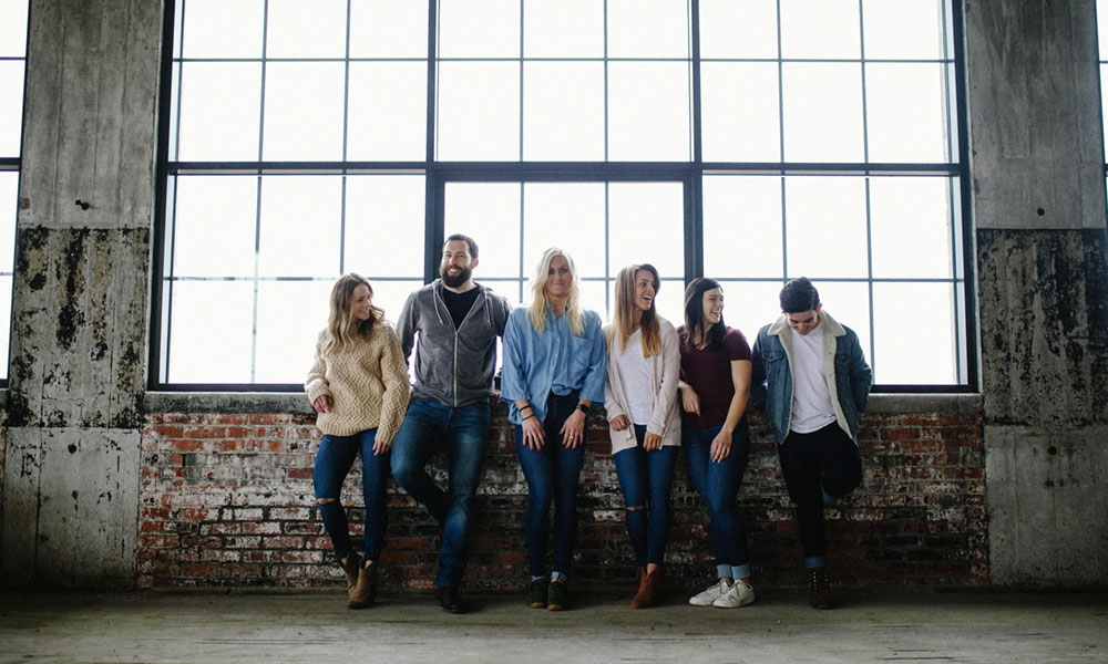 "Models wearing Jaxon Jovie jeans. The company, based in Clay, is increasing its marketing efforts. ""We didn't want to market until we were 100% sure the product was right,"" owner John Timmerman said."