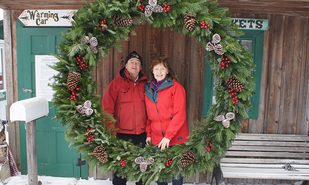 Jack and Faye Beckwith started planting Christmas trees on their farm at Mill Street in Hannibal in 1985. However, the farm did not start selling trees until 1995.