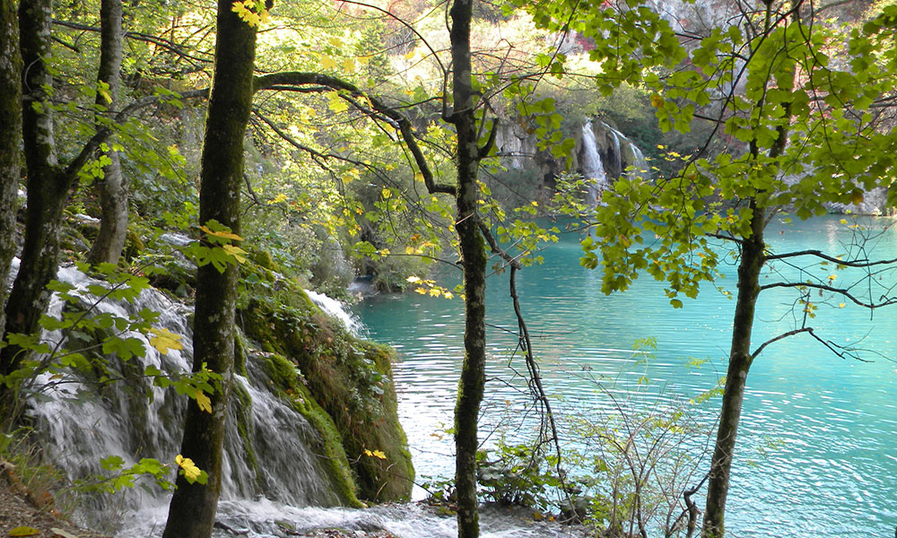 Beautiful Plitvice Lake National Park with trails along lakes and past waterfalls is about two hours away. It's located in Zagreb, Croatia's capital since 1991.