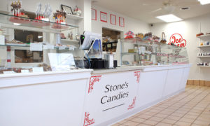 Stone's Homemade Candy Shop Reopens in Oswego