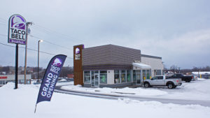 Taco Bell is the latest fast food restaurant to open in Oswego.