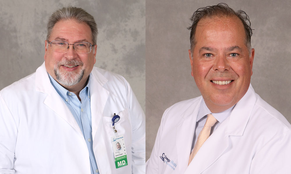 Duane Tull, MD and Micheal Stephens, MD