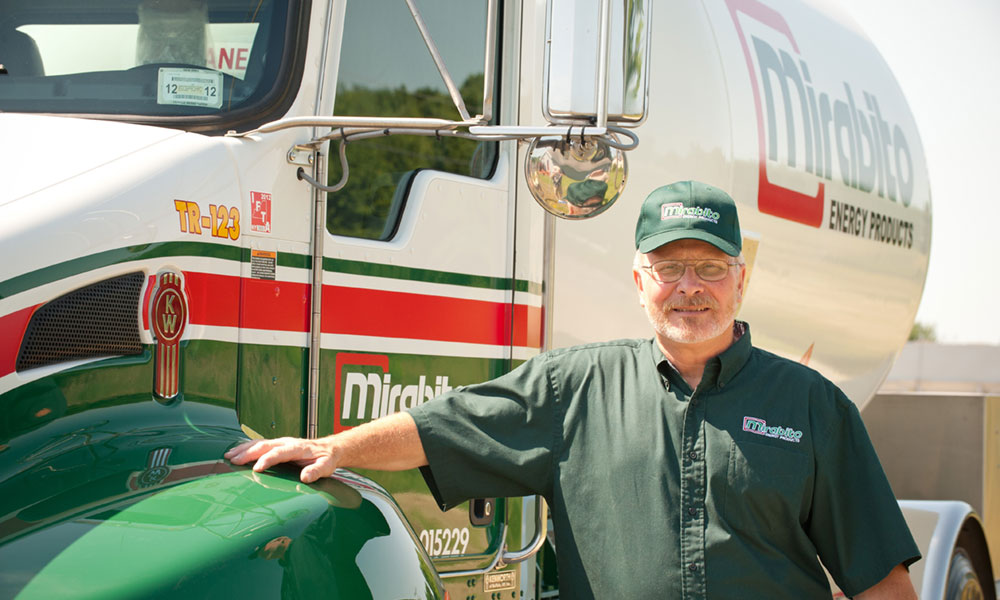 Mirabito Energy Products' team members specialize in delivering heating products.