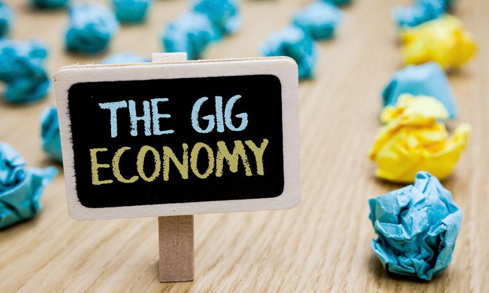 Gig Economy Flourishing