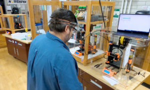 Read more about the article SUNY Oswego Partners with CiTi BOCES, Exelon and Novelis to Manufacture Protective Face Shields