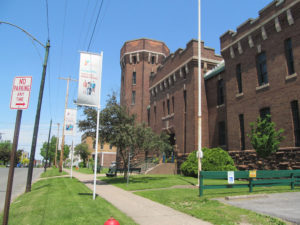 Oswego YMCA in downtown Oswego. Prior to the global pandemic, the Oswego Y featured more than 1,700 members, the highest mark since Kerrie Webb's tenure as leader.