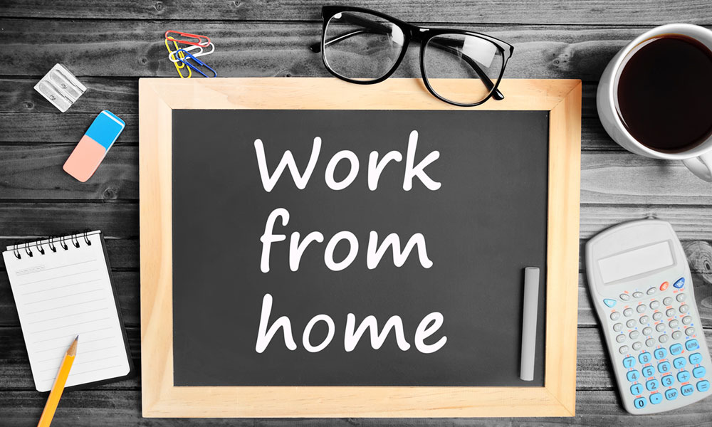 Working at Home This Summer?  Here Are Some Tips