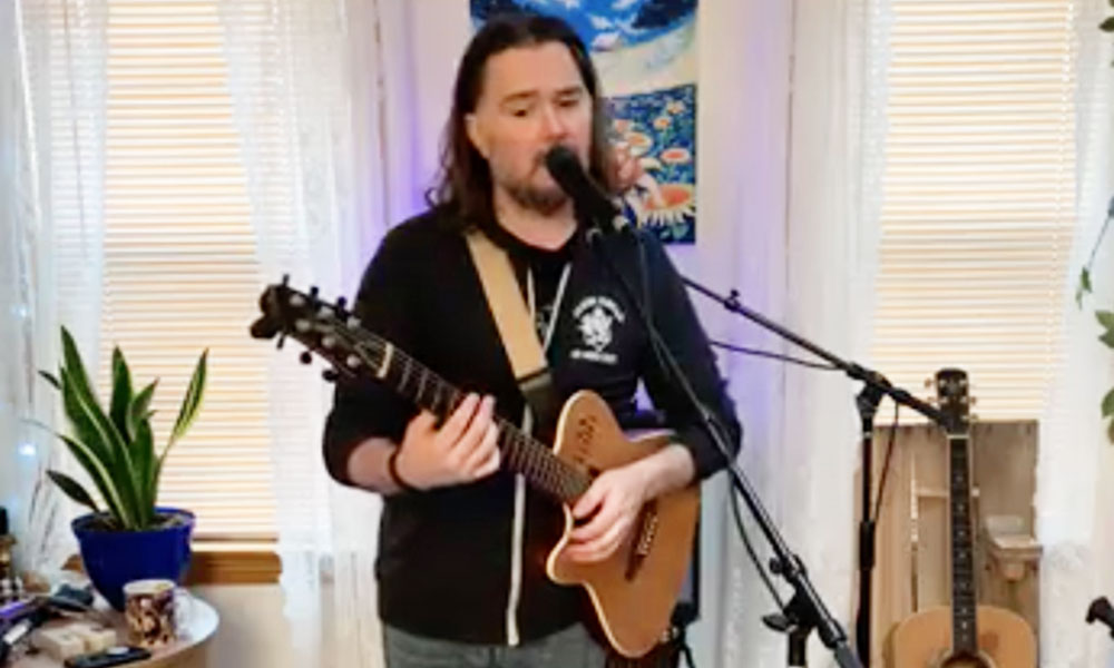 Musician John McConnell has hosted Open Mic Night at Old City Hall bar in Oswego. Now, his Tuesday night events involve a live Facebook performance.