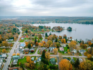 Overview of the village of Fair Haven. Photo courtesy of Kyle Meddaugh.