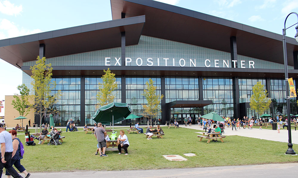 Exposition Center at the Great New York State Fair. Cancellation of the fair, with an attendance of more than 1 million people, is a blow to the local tourism industry.