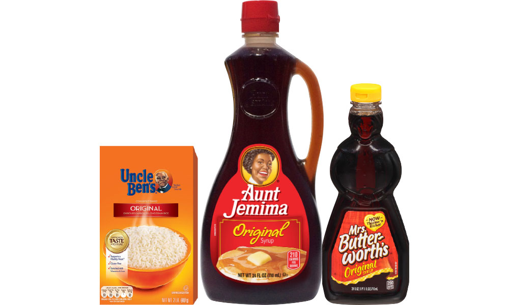 Uncle Ben's, Aunt Jemima, Mrs. Butterworths