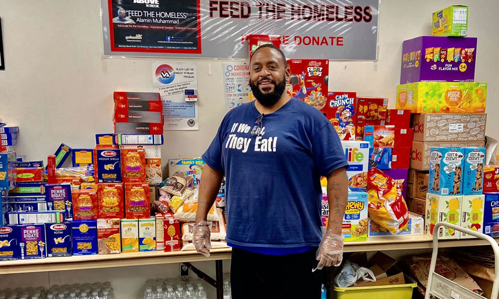 Former Homeless Man Helps Syracuse's Hungry