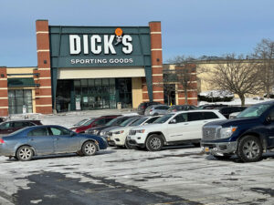 Dick's Sporting Goods at Great Northern Mall in Clay is the last anchor store to leave the mall. It's scheduled to relocate within the next few months.