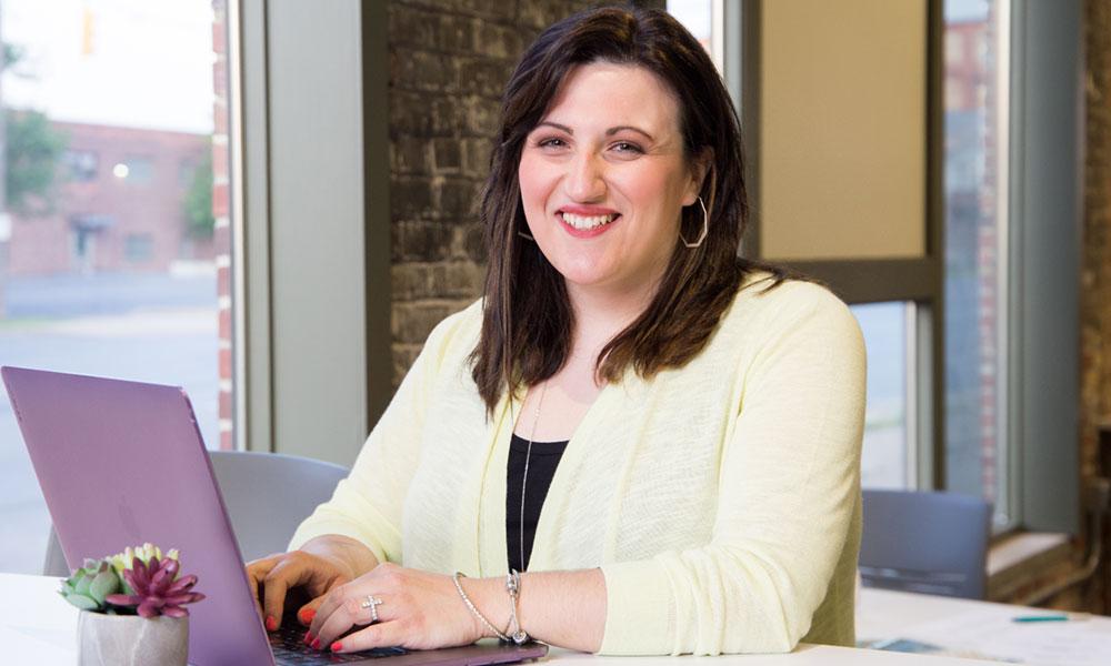 Francesca Orsomarso, the founder and president of FMN Creative in Utica.