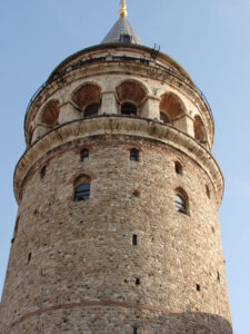 Galata Tower offers visitor a panoramic view of Istanbul.