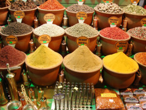 For a riot of color and smells, stop by the Spice Market, a popular stop at the Grand Bazaar.
