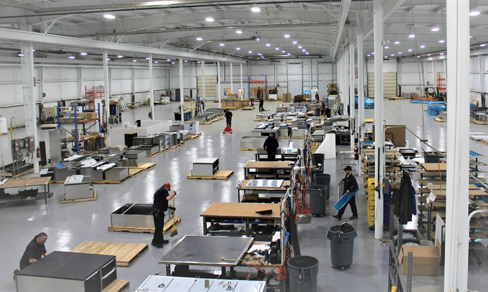 EZ Stak is a Kingston, Ontario, Canada-based company that recently completed a $6 million expansion project in Watertown, moving to a new 14,660-square-foot facility and adding production lines. EZ STAK is an industry leader and manufacturer of modular interior storage systems for work trucks, service bodies, vans, trailers, and law enforcement vehicles.