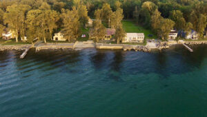 Homes along Lake Ontario in the Mexico area. Real estate agents say finding a lakefront property has been hard. Buyers from downstate and out of state — Pennsylvania, New Jersey and Connecticut in particular — have increasingly invested their money in second homes on the water in Central New York. Photo by Ken Sturtz.