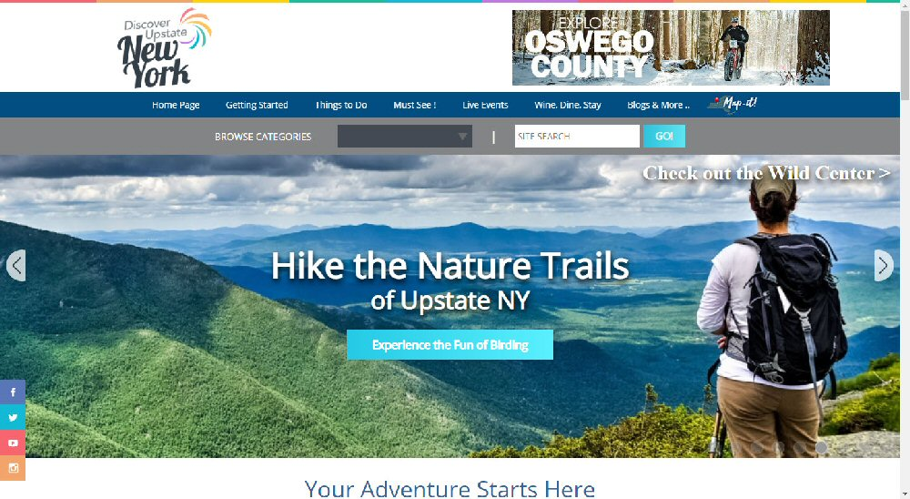 You are currently viewing Discover Upstate NY Tourism Website Recognized
