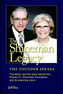 Cover of the new book about the Shineman Foundation.