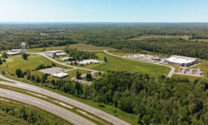 Oswego County Industrial Park in Schroeppel, owned by Operation Oswego County. The purchase of additional 200 acres of industrial-zoned property adjacent to the park will make the site suitable for larger projects.