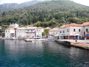 The quaint town of Kotor may be on the Adriatic but it is actually a river valley that opens to the sea.