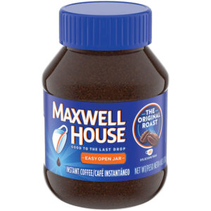 Maxwell House  The company's instant coffee went from more than 30 ounces to 26.8 ounces. While the price remained the same, there are now 30 fewer cups of coffee.