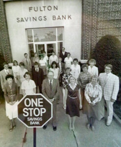 The leadership team and some employees.  September 1980.