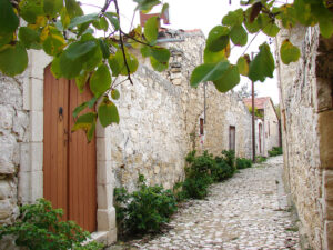 Lofou, a traditional village in Cyprus located between Limassol and Paphos.