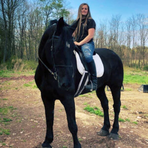 """AshleyFox started her CNY Ranch Supply and Feed business November 2020. """"Yes, I work more than 70 hours a week,"""" she says. """"It is at least usually eight in the morning to seven at night, every day seven days a week."""""""