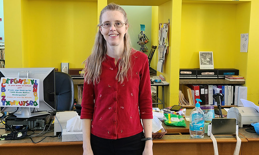 Meet the New Director of the Historic Oswego Public Library, Miranda McDermott