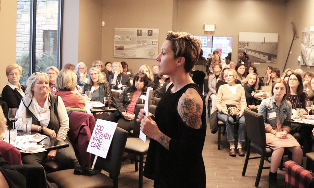 You are currently viewing 100 Women Who Care CNY  Works to Help Local Nonprofits